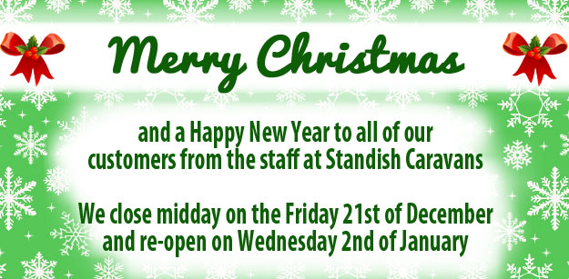 Standish Caravans Christmas Opening Hours